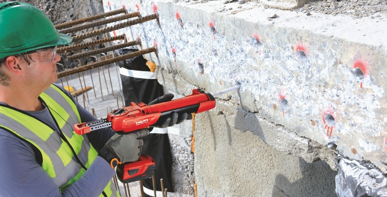 Hilti jobsite reference battersea power station London UK