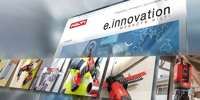 e.innovation Magazyn Hilti