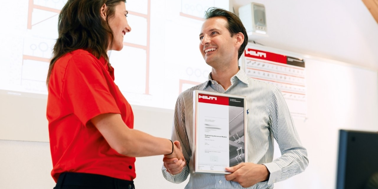 Hilti basic health and safety training